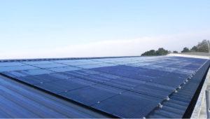 La centrale photovoltaïque solaire de Penestin dans le Morbihan